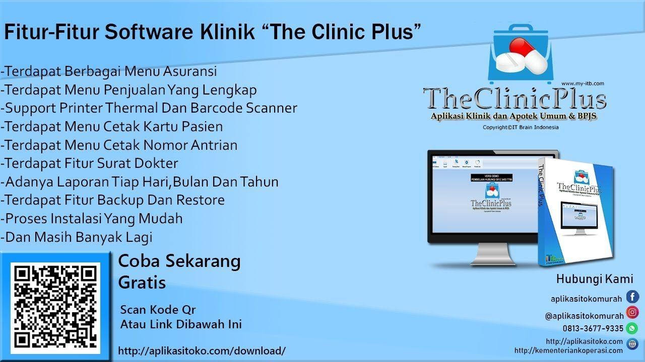 Software Klinik Dan Apotek Sederhana Gratis Demo Theclinicplus Kartu Aplikasi Surat