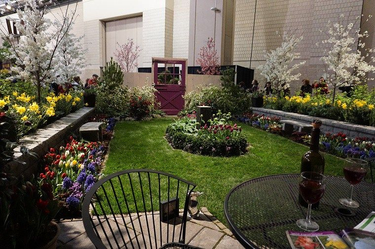 Garden landscape design trends from the 2017 Flower Show - great