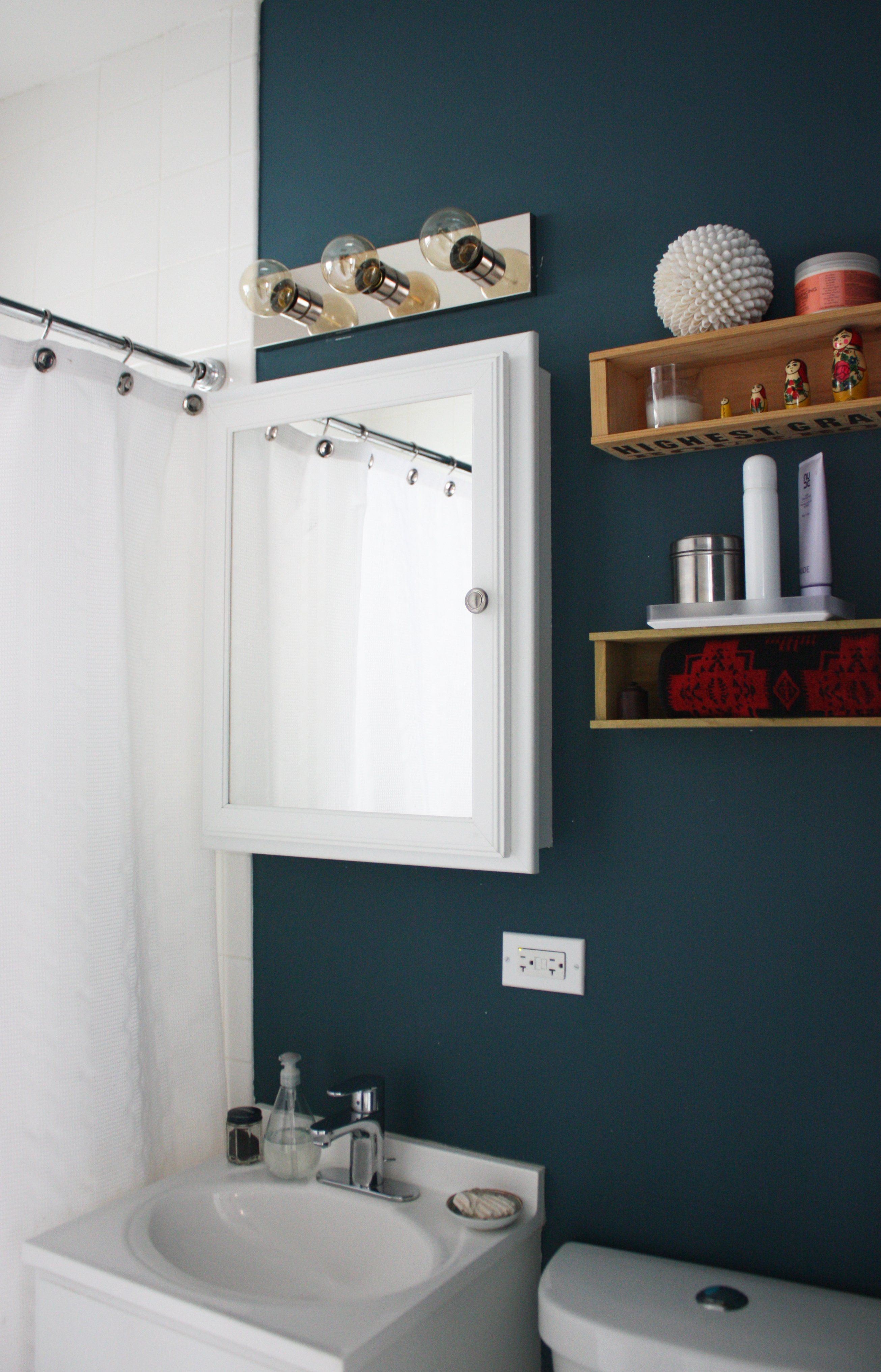 Paint Colors That Match This Apartment Therapy Photo: SW 7075 Web Gray, SW  6097