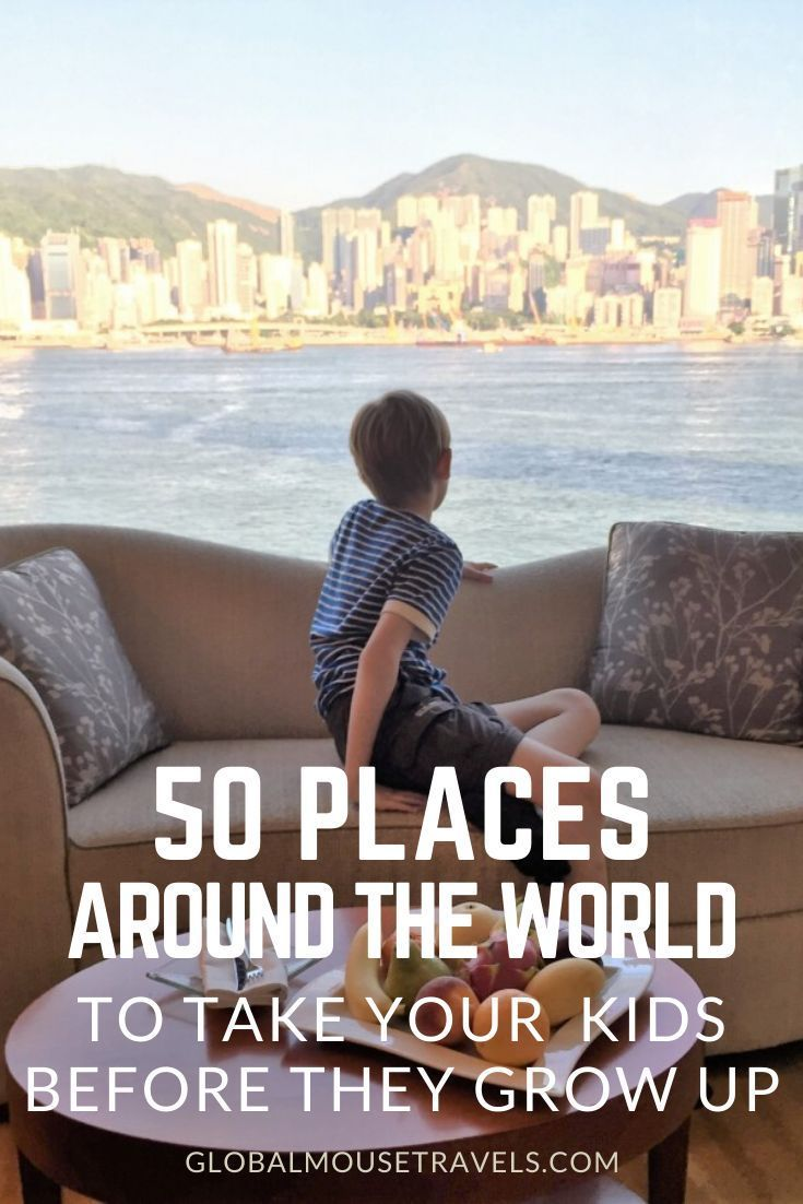 Looking for travel inspiration with kids? We have the best 50 places around the world to take your kids before they grow up. Read on for so many travel ideas with kids. #familyvacations #holidayswithchildren #style #shopping #styles #outfit #pretty #girl #girls #beauty #beautiful #me #cute #stylish #photooftheday #swag #dress #shoes #diy #design #fashion #Travel