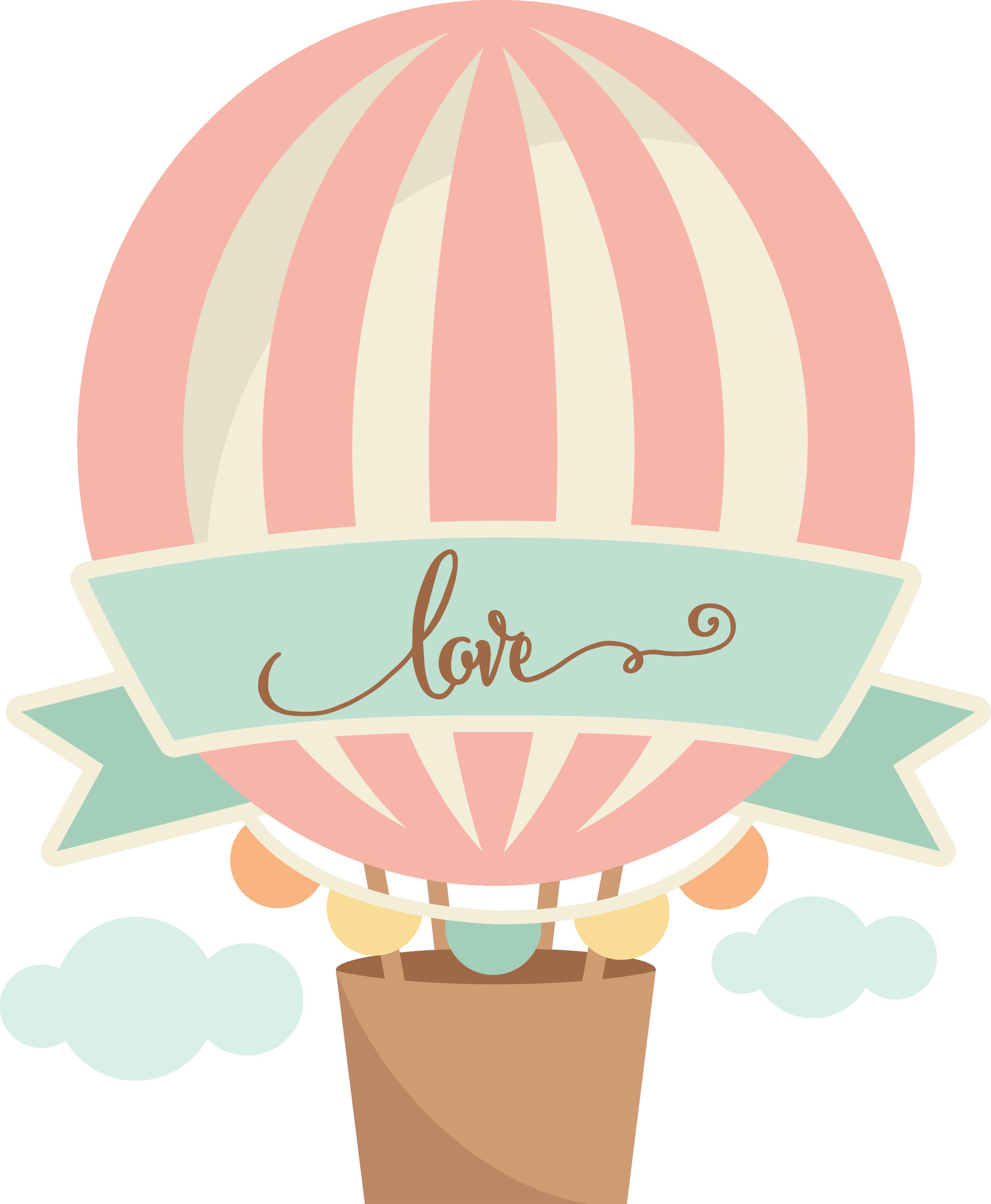 foto de MKC LoveHotAirBalloon SVG png Balão de ar quente Arte