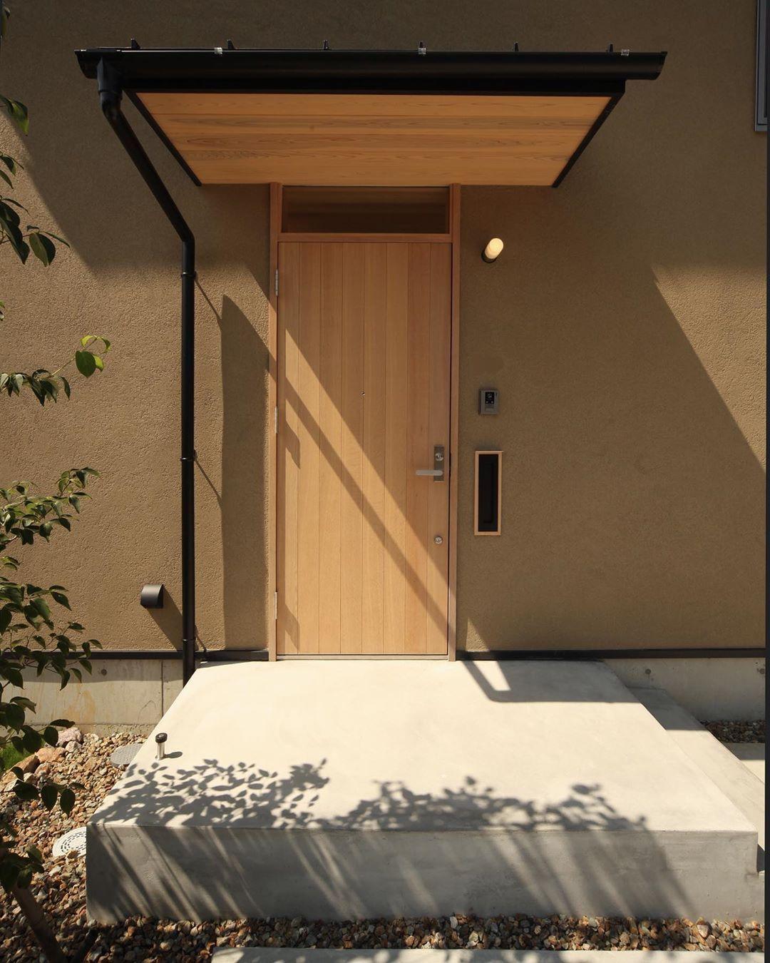 Masanori Aoki On Instagram おはようございます 薬師山の家 玄関