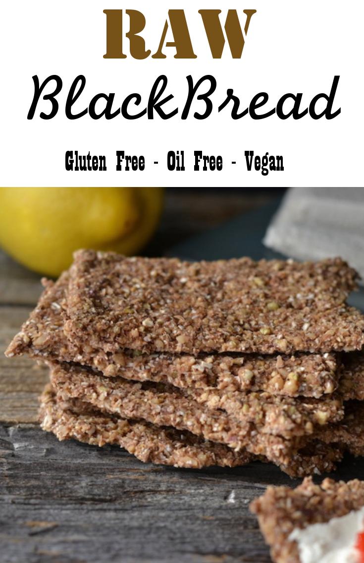 Raw Vegan Black Bread Raw Food Recipes Food Recipes