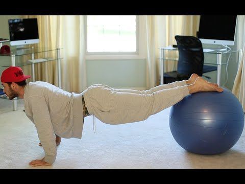 athome workouts  stability ball  youtube  at home