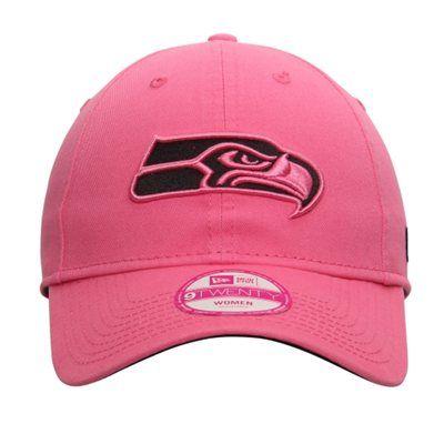 0eeb1663 Women's Seattle Seahawks New Era Pink Preferred Pick 9TWENTY ...