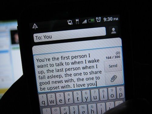 Text The Romance Back With Michael Fiore Cute Love Quotes How To Fall Asleep Love Quotes