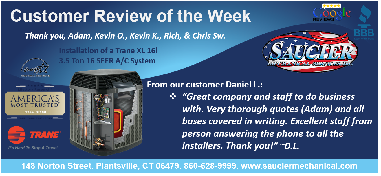 Customer Review of the week from our customer Daniel L
