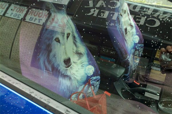 Seat Cover Wolves Dreamy Wolf Car Seat Covers Seat