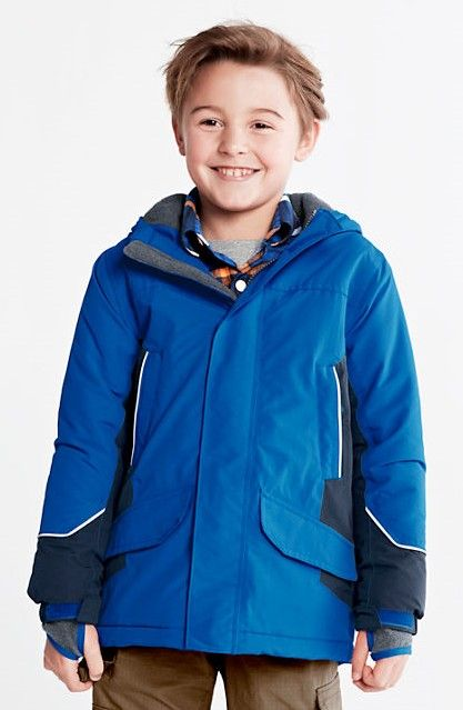 durable modeling world-wide selection of search for clearance Boys' Waterproof Squall Parka from Lands' End. It's a ...