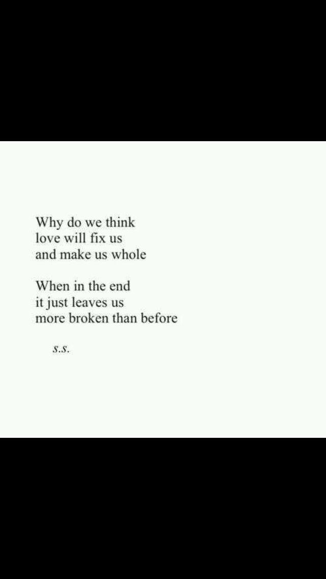 why do we get heartbroken
