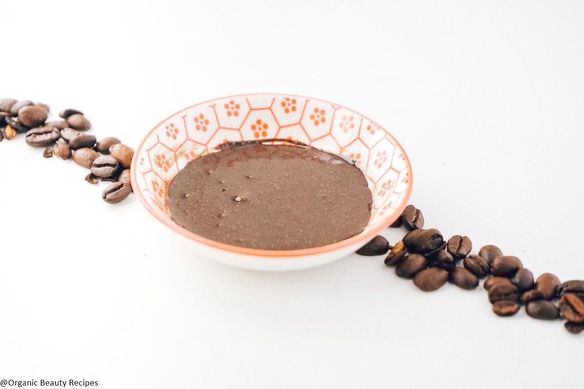 Coffee face scrub recipe like lush coffee face scrub