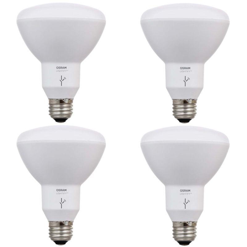 Sylvania Osram Lightify Smart Home 65w Tunable White Led Flood Light 4 Pack New Free Shipping Works With Ale Smart Home Automation Led Flood Flood Lights