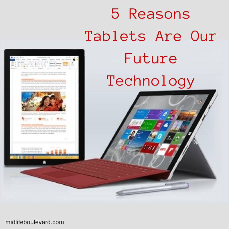 5 Reasons Tablets Are Our Future Technology.