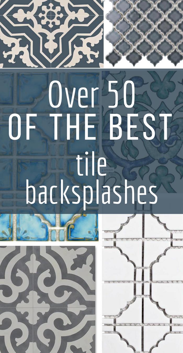 Over 50 of the Best Farmhouse Tile Backsplash Ideas | Laundry rooms ...