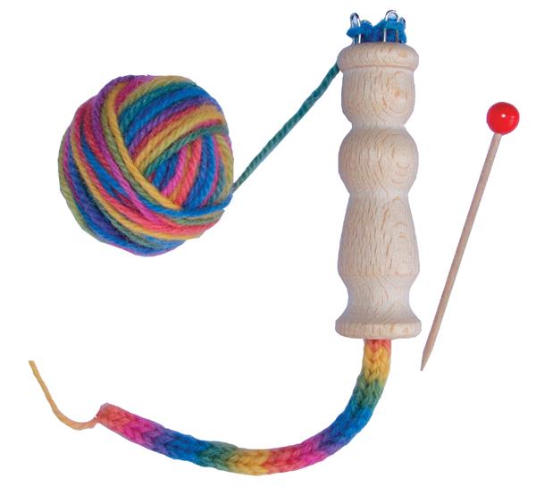 Toy Dolly Bobbin Wool Set