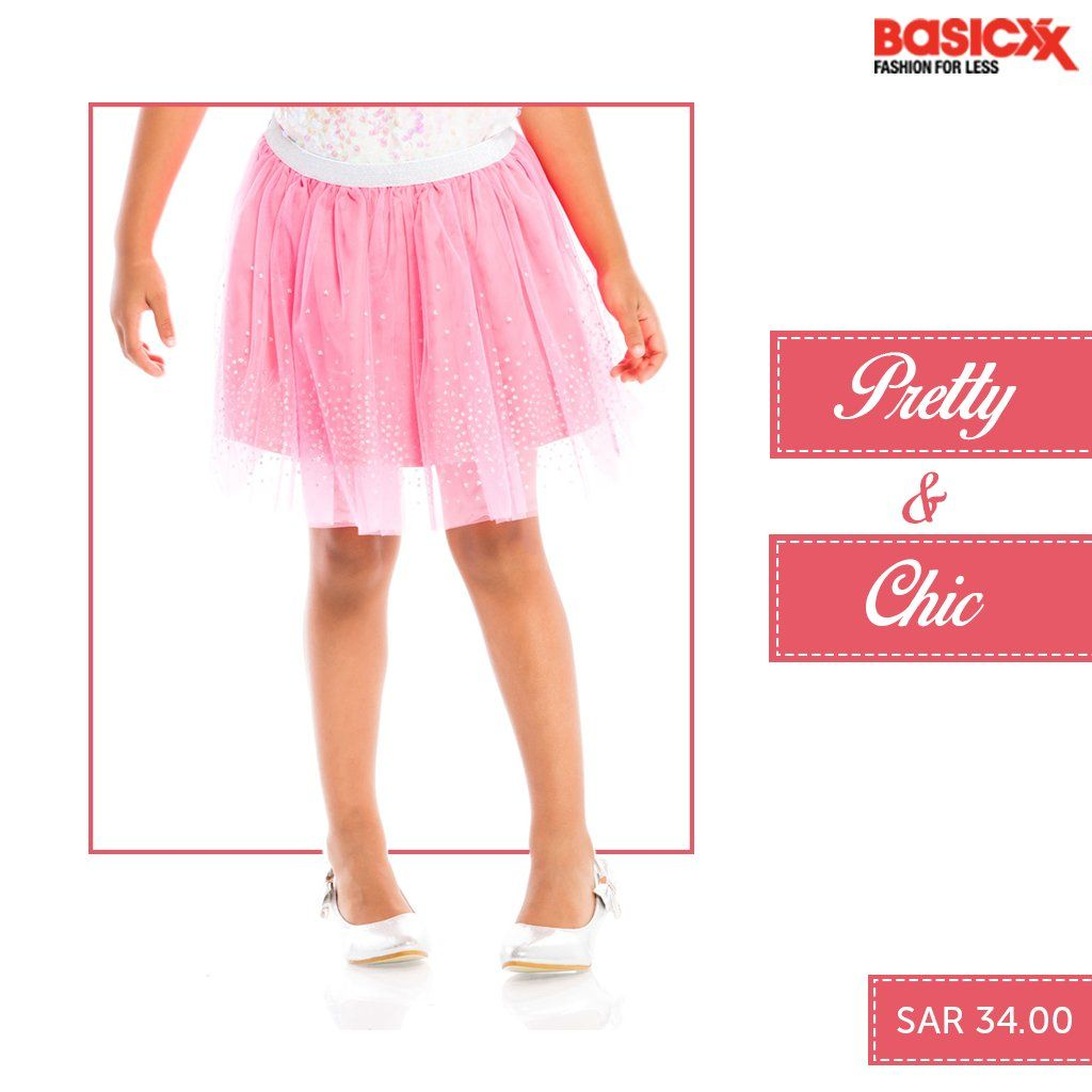 We've everything to offer to put a smile on your little one's face. Shop these cute chic skirts for your princess.