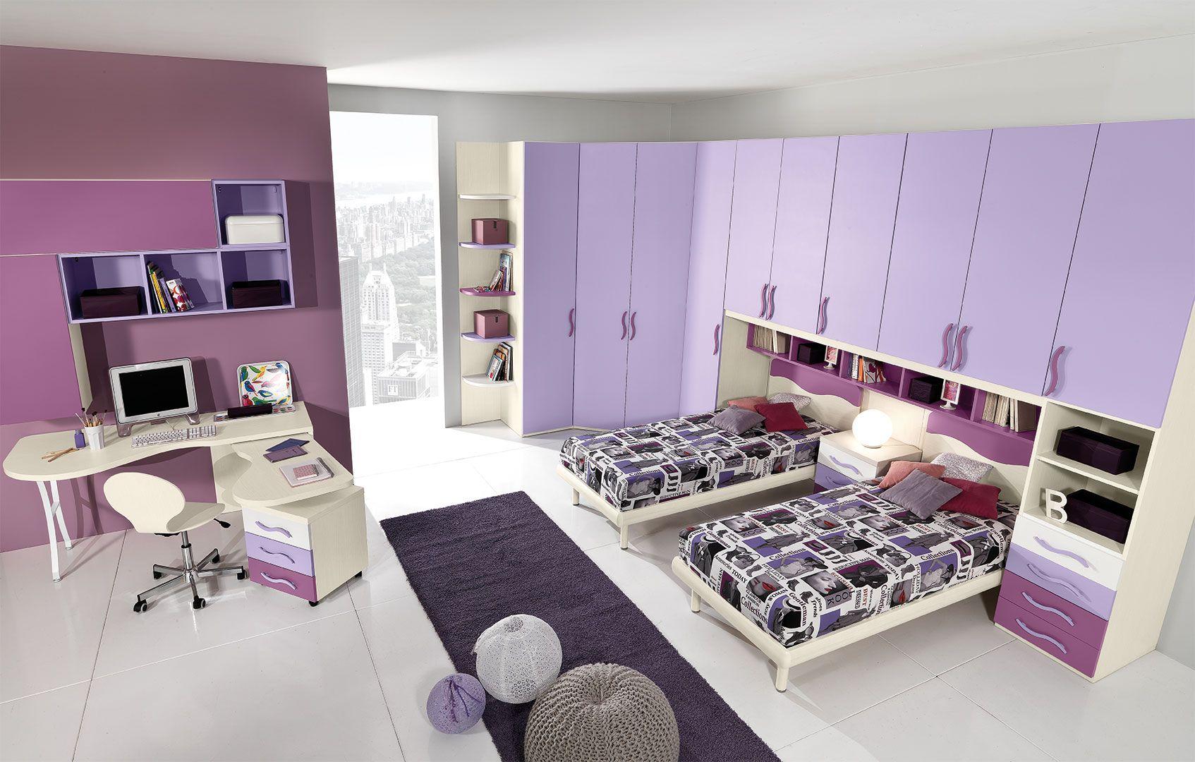 Camerette per Ragazze - CM17 - Giessegi | Idee per la casa ...