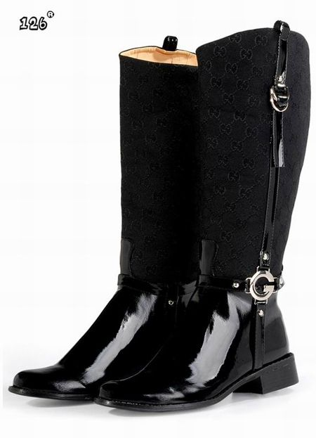 351752638 Cheap Gucci Boots For Women Black Sale At 137usd | 2013 Winter Boots ...