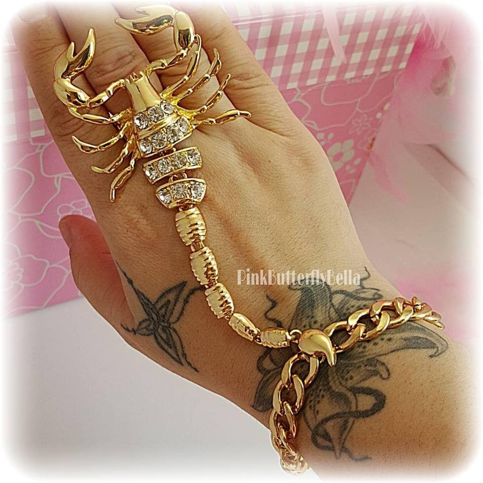 Scorpion Ring Bracelet