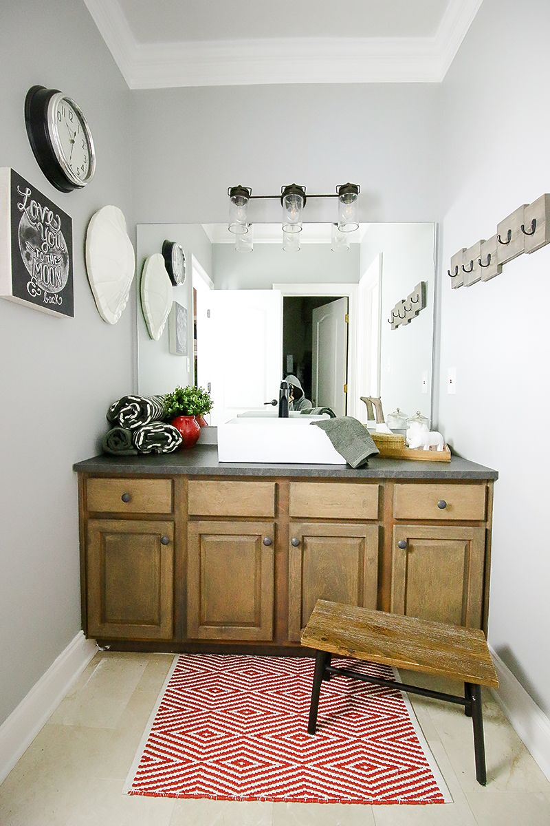 How to refinish a bathroom vanity kid bathrooms bathroom vanities