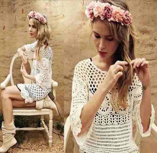 11a94fe0d4 Encontre Lindo Vestido Crohe - Vestidos Femininos no Mercado Livre Brasil.  Descubra a melhor forma de comprar online.