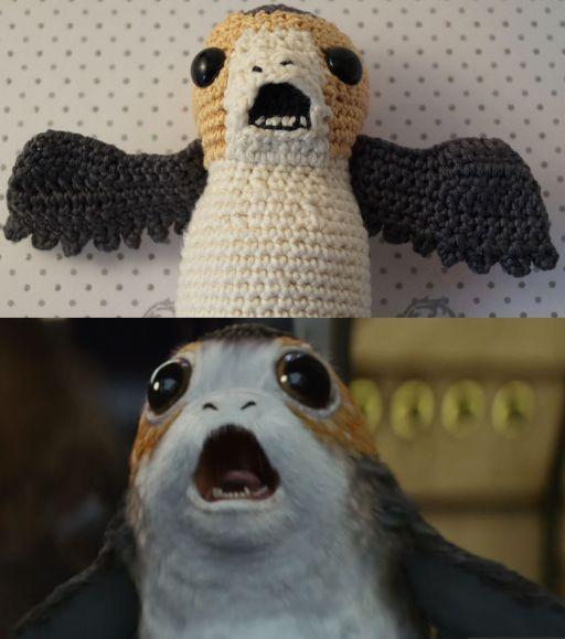 Star Wars Die Letzten Jedi Porg Häkeln Die Kostenlose Anleitung