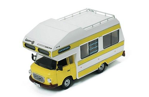 Barkas B1000 1973 - Yellow Wohnmobil - Die-cast | Hobbyland