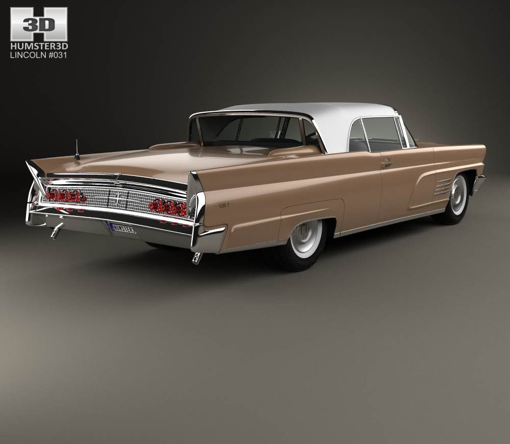Cadillac Marks 15 Years Of V Series With Pedestal Edition: 3D Model Of Lincoln Continental Mark V 1960 (With Images