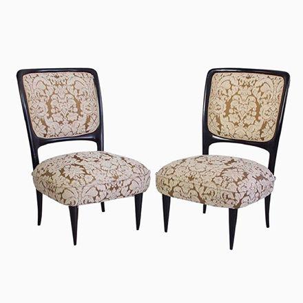 handgemachte italienische mahagoni st hle 1960er 2er set jetzt bestellen unter https moebel. Black Bedroom Furniture Sets. Home Design Ideas