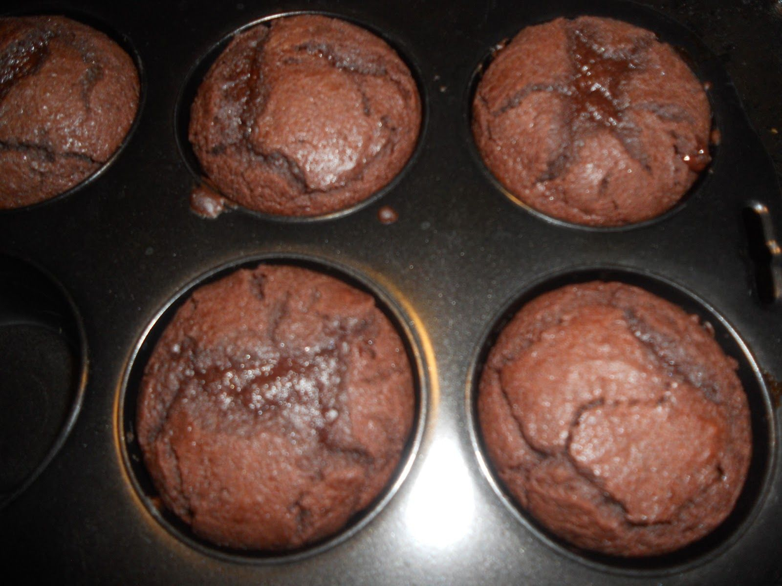 Superihanat suklaamuffinssit - ilman suklaata