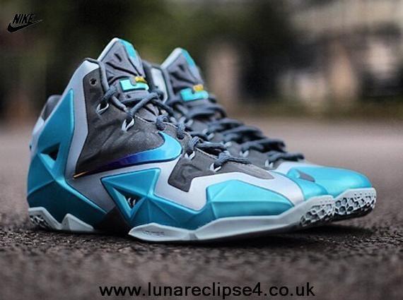 low priced ab837 37a19 New Armory Slate Gamma Blue-Light Armory Blue 616175-401 Nike Lebron 11 ...