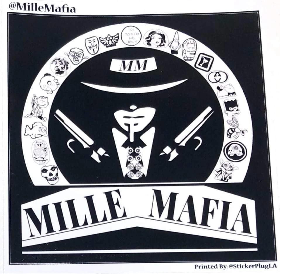 Mille Mafia 3 Sticker Pack Print Stickers Stickers Packs Stickers