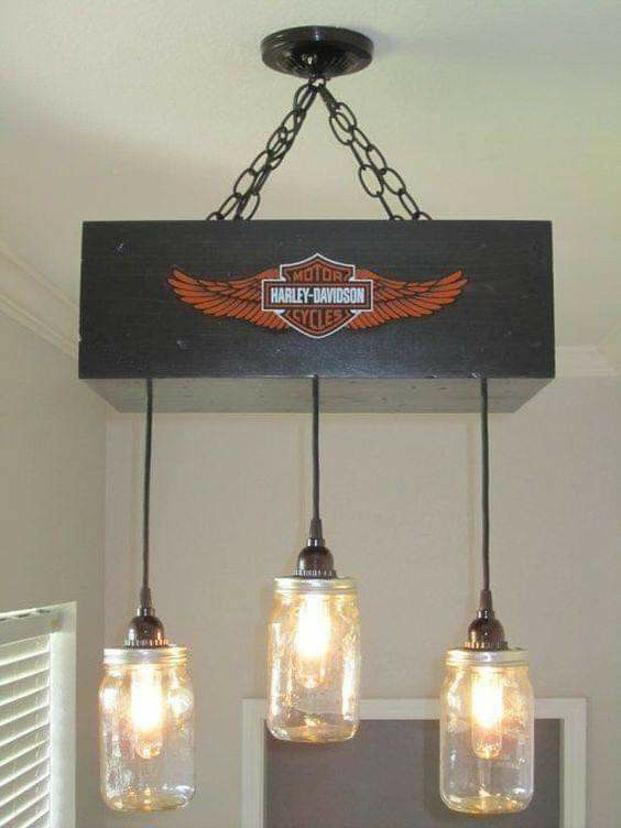 Harley Davidson Decor Light
