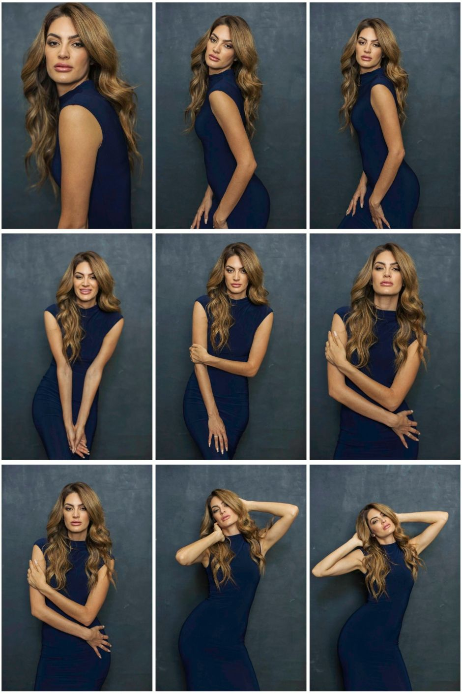 women style guide for posing, lighting and brand identity.