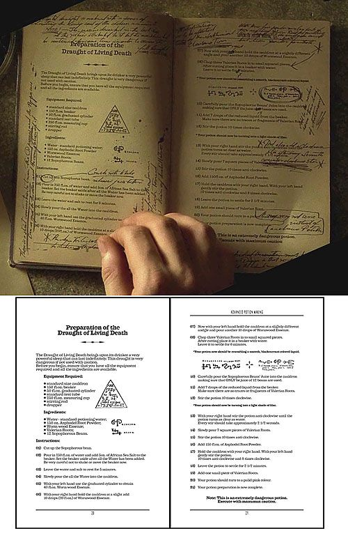 picture about Advanced Potion Making Printable named Superior Potion Producing  Harry Potter Harry