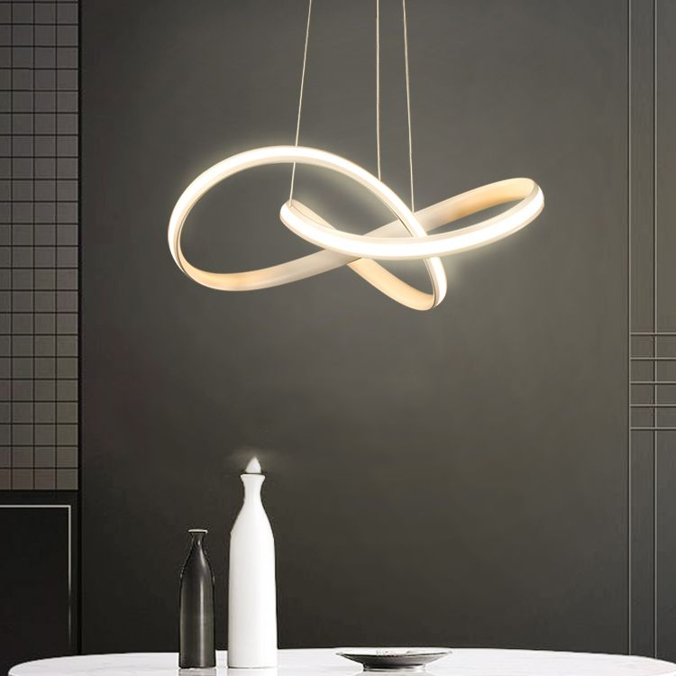 Simple Modern Led Chandelier Pendant Lamp Fashion Chic Chandelier