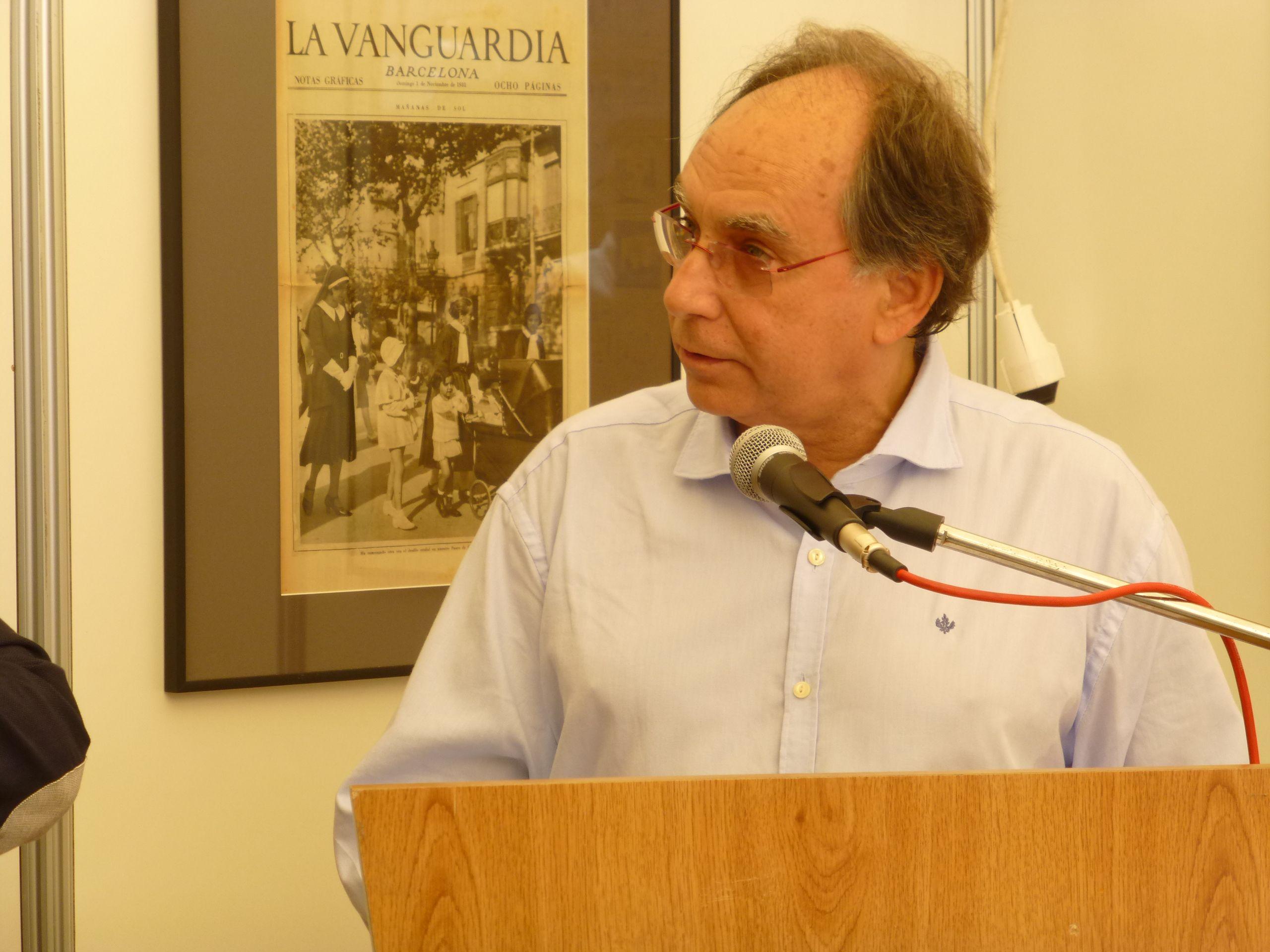 L'escriptor Jordi Coca, el pregoner d'enguany
