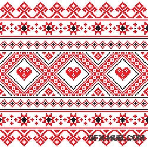 украинские узоры картинки