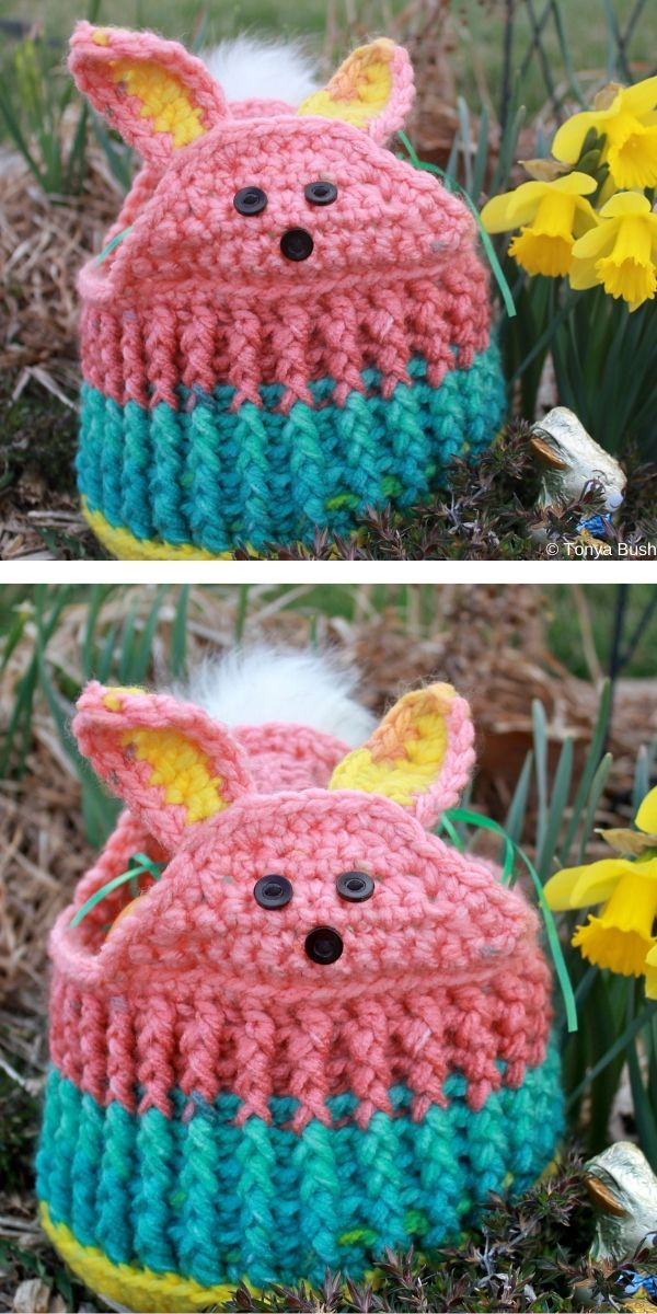 The Best 30 Crochet Easter Baskets The Best 30 Cro