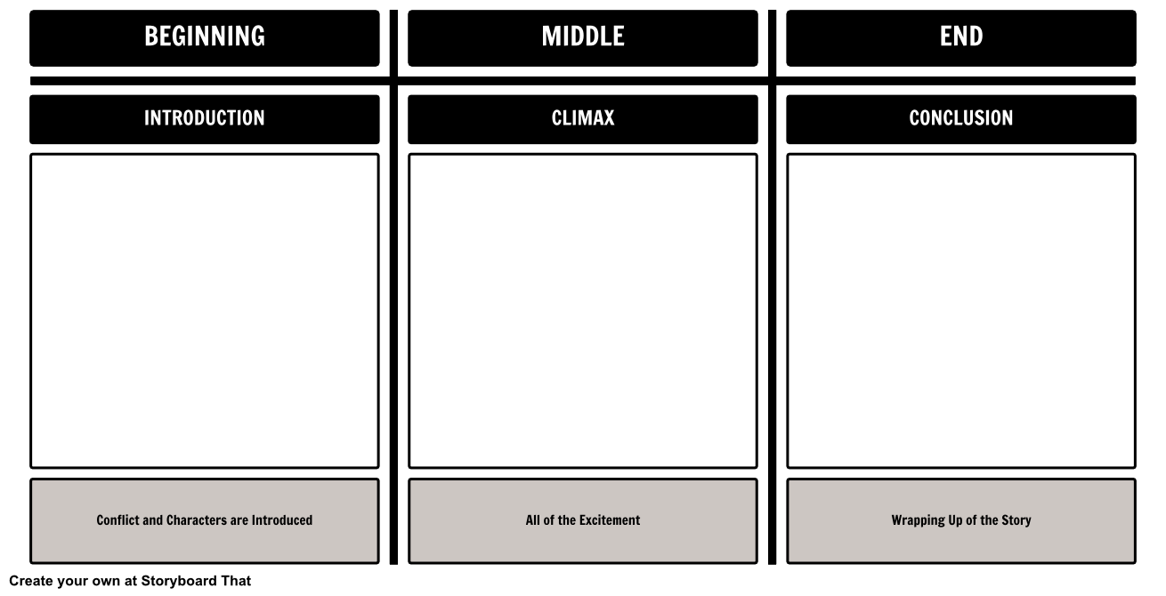 At Storyboard That, we provide you with many templates for ...