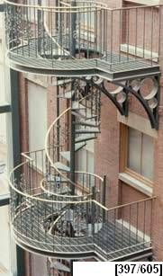 Best Fancy Fire Escape With Images Fire Escape Stairs 400 x 300
