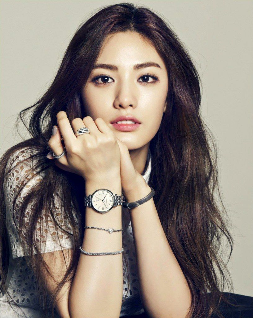 After School S Nana Looks Stunning For Instyle Korea Korean Eyebrows Asian Eyebrows Nana Afterschool