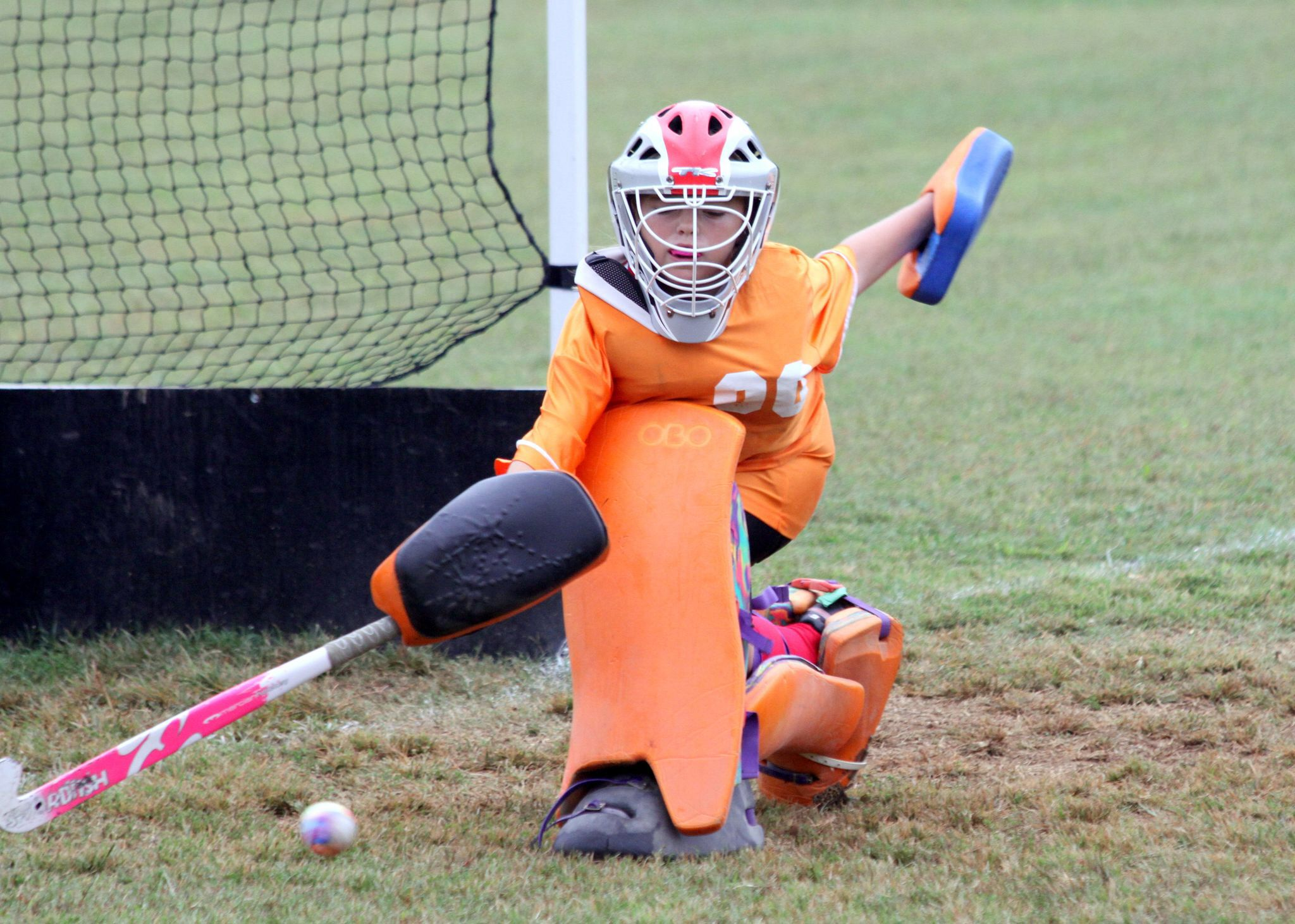 Field Hockey Me At Goalie