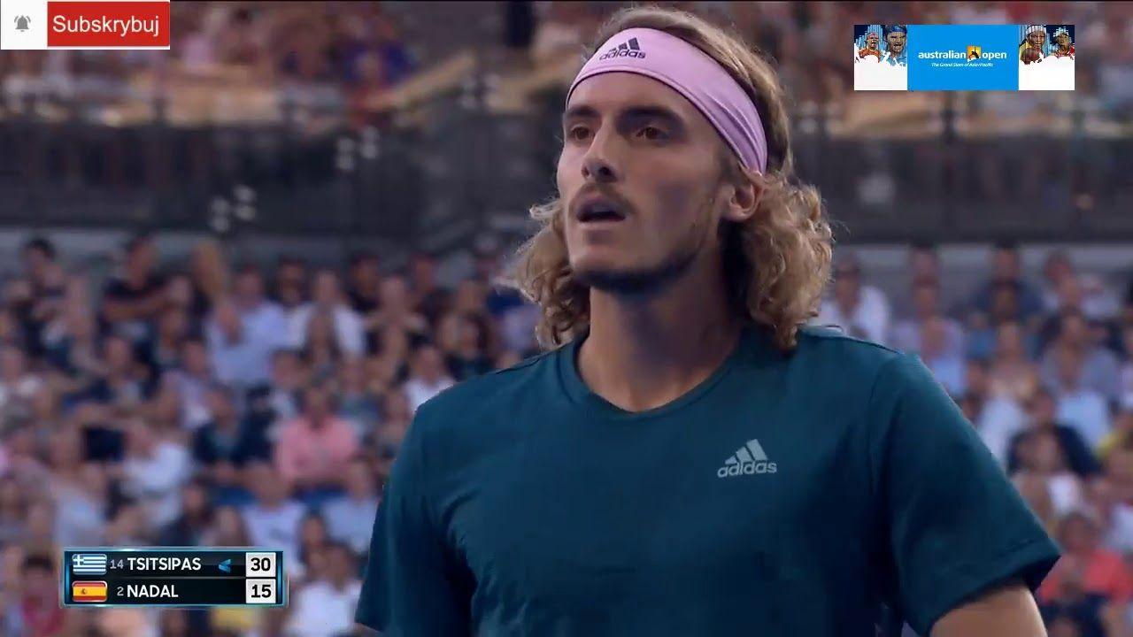 Australian Open 24 01 2019 Stefanos Tsitsipas 14 Gre Vs Rafael N Australian Open Tennis Players Rafael Nadal