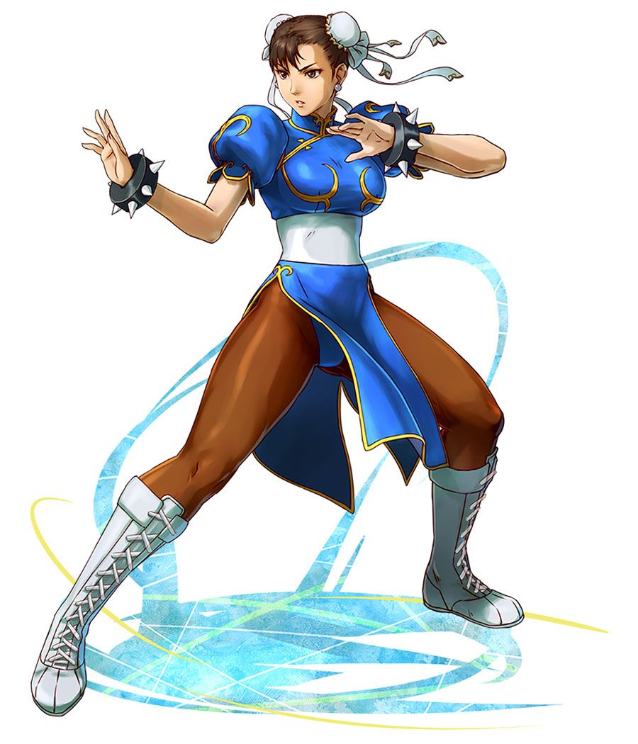 Chun Li From Project X Zone 2 Chun Li Street Fighter Chun Li Street Fighter