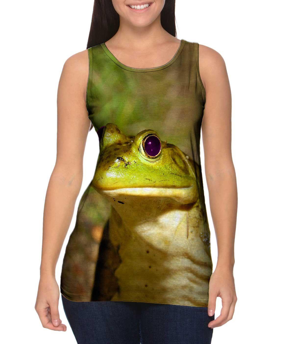 Purple Eyed Frog