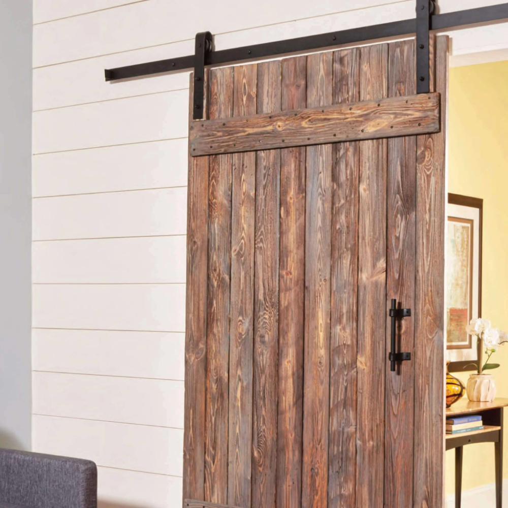 Rustic Barn Door In 2020 Barn Door Rustic Barn Door Door Plan