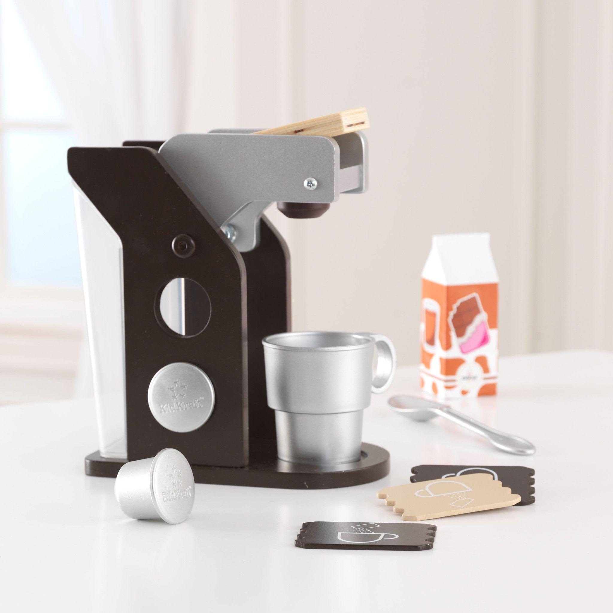 KidKraft Espresso Coffee Set - 63379 | Kid kraft, Espresso coffee ...