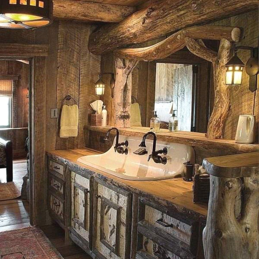 Stunning Rustic Bathroom designs you might build for your bathroom ...