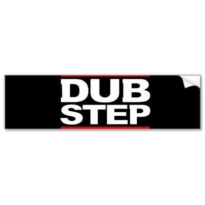 Dubstep bumper stickers from http www zazzle com dubstep